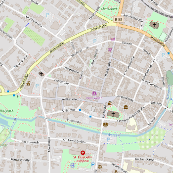 Detail map